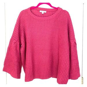 Bell sleeve Knot Sweater